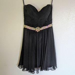 Cinderella Divine Cocktail Dress - Black